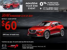 Get the 2019 Mazda CX-3!