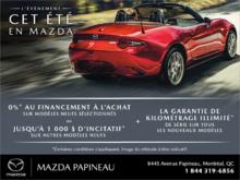 L'événement cet été en Mazda