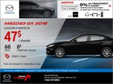 Voyez la Mazda3 2018