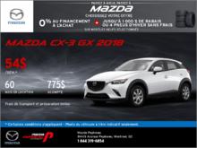 Obtenez la Mazda CX-3 2018