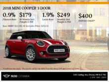 2018 MINI Cooper 3 Door