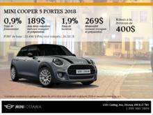 La MINI Cooper 5 portes 2018