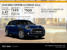 2018 MINI Cooper Clubman ALL4