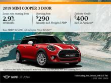 2019 MINI Cooper 3 door