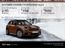 2019 MINI Cooper Countryman ALL4