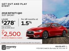 2018 Q60 3.0T Sport