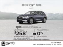 2019 QX50 Luxe