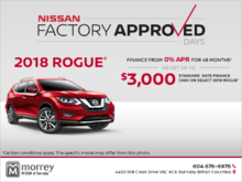 Get the 2018 Rogue Today!