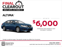 Get the 2018 Altima Today!