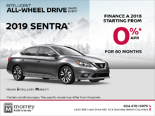 Get the 2019 Sentra Today!