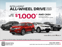 Intelligent All-Wheel Drive Sales Event