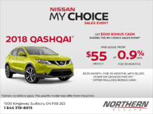 Get the 2018 Qashqai today! (