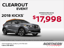 Get the new Nissan Kicks!