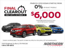Nissan's Final Clearout Event