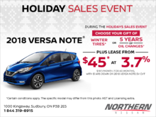 Get the 2018 Nissan Versa Note Today!