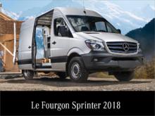 Le Fourgon Sprinter 2018