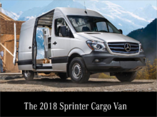 The 2018 Sprinter Cargo Van