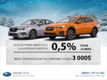 L'événement mensuel de Subaru!