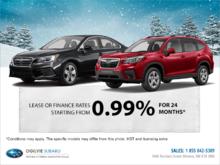 Subaru's Monthly Sales Event!