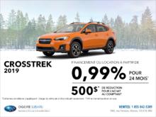 Louez la Subaru Crosstrek 2019 dès aujourd'hui!