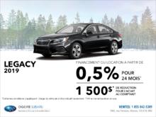 Louez la Subaru Legacy 2019 dès aujourd'hui!