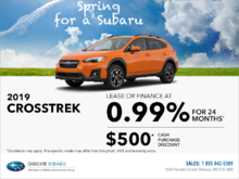Get the 2019 Subaru Crosstrek Today!