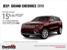 Conduisez un Jeep Grand Cherokee 2019!