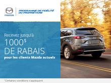 Programme de fidélité Mazda