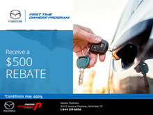 Mazda's First Time Owners Program