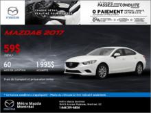 Voyez la Mazda6 GX 2017