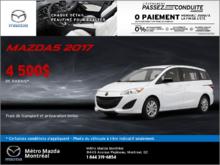 Voyez la Mazda5 GS 2017