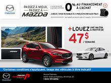 La vente mensuelle chez Mazda Papineau!