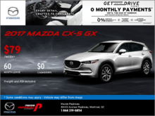 Get Our 2017 Mazda CX-5 GX