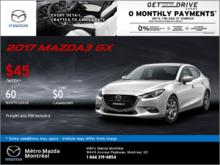 Save big on the 2017 Mazda3!