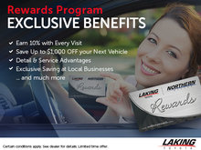 Take Advantage of Laking Toyota's Rewards Program