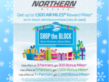Get up to 1500 AIRMILES® Reward Miles