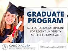 Camco Acura's Graduate Program
