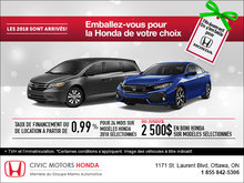 On s'emballe pour Honda!