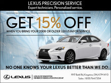 No One Knows Your Lexus Better than We Do!