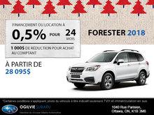 Louez le Subaru Forester 2018
