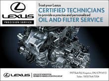 Trust your Lexus certified technicians!