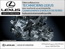 Faites confiance à nos techniciens Lexus!