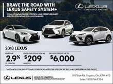 Brave the Road with Lexus Safety System+