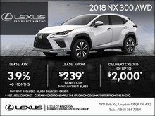 Get the 2018 Lexus NX Today!