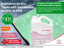 Windshield Washer Service Offer