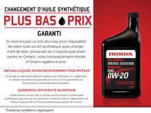 Meilleur prix pour le changement d'huile synthétique !