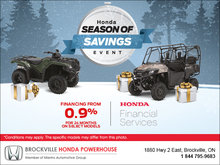 Season of Savings Event - ATVs