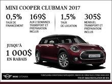 La MINI Cooper Clubman 2017