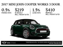2017 MINI John Cooper Works 3 Door