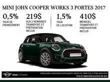 MINI John Cooper Works 3 portes 2017